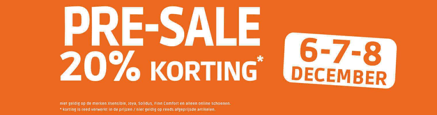 Pre Sale meijerink schoenen 6, 7 en 8 december 2091